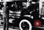Image of ten millionth Model T Ford Highland Park Michigan USA, 1924, second 30 stock footage video 65675032318