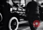 Image of ten millionth Model T Ford Highland Park Michigan USA, 1924, second 40 stock footage video 65675032318