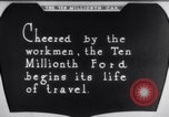 Image of ten millionth Model T Ford Highland Park Michigan USA, 1924, second 42 stock footage video 65675032318