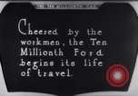 Image of ten millionth Model T Ford Highland Park Michigan USA, 1924, second 44 stock footage video 65675032318