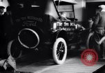 Image of ten millionth Model T Ford Highland Park Michigan USA, 1924, second 52 stock footage video 65675032318