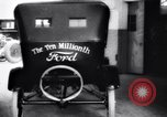 Image of ten millionth Model T Ford Highland Park Michigan USA, 1924, second 55 stock footage video 65675032318