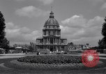 Image of Napoleon's Tomb and the Palace of Versailles Paris France, 1956, second 6 stock footage video 65675032321