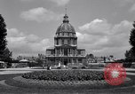 Image of Napoleon's Tomb and the Palace of Versailles Paris France, 1956, second 11 stock footage video 65675032321