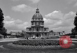 Image of Napoleon's Tomb and the Palace of Versailles Paris France, 1956, second 12 stock footage video 65675032321