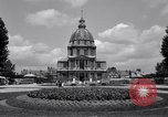 Image of Napoleon's Tomb and the Palace of Versailles Paris France, 1956, second 13 stock footage video 65675032321
