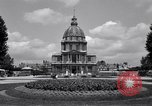 Image of Napoleon's Tomb and the Palace of Versailles Paris France, 1956, second 15 stock footage video 65675032321