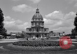 Image of Napoleon's Tomb and the Palace of Versailles Paris France, 1956, second 16 stock footage video 65675032321
