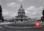 Image of Napoleon's Tomb and the Palace of Versailles Paris France, 1956, second 17 stock footage video 65675032321