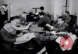 Image of reporters Washington DC USA, 1944, second 23 stock footage video 65675032330