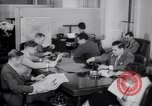 Image of reporters Washington DC USA, 1944, second 53 stock footage video 65675032330