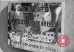 Image of United States Consulate in Bordeaux France World War 2 Bordeaux France, 1940, second 19 stock footage video 65675032331