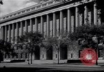 Image of Internal Revenue Service Building Washington DC USA, 1948, second 3 stock footage video 65675032334