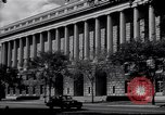 Image of Internal Revenue Service Building Washington DC USA, 1948, second 5 stock footage video 65675032334