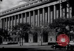 Image of Internal Revenue Service Building Washington DC USA, 1948, second 6 stock footage video 65675032334