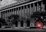 Image of Internal Revenue Service Building Washington DC USA, 1948, second 7 stock footage video 65675032334
