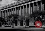 Image of Internal Revenue Service Building Washington DC USA, 1948, second 8 stock footage video 65675032334
