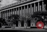 Image of Internal Revenue Service Building Washington DC USA, 1948, second 11 stock footage video 65675032334