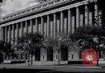 Image of Internal Revenue Service Building Washington DC USA, 1948, second 13 stock footage video 65675032334