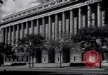Image of Internal Revenue Service Building Washington DC USA, 1948, second 14 stock footage video 65675032334
