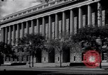 Image of Internal Revenue Service Building Washington DC USA, 1948, second 15 stock footage video 65675032334