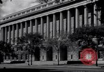 Image of Internal Revenue Service Building Washington DC USA, 1948, second 16 stock footage video 65675032334