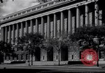 Image of Internal Revenue Service Building Washington DC USA, 1948, second 17 stock footage video 65675032334