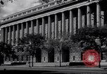 Image of Internal Revenue Service Building Washington DC USA, 1948, second 19 stock footage video 65675032334