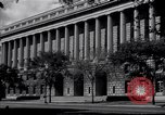 Image of Internal Revenue Service Building Washington DC USA, 1948, second 20 stock footage video 65675032334
