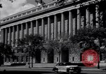 Image of Internal Revenue Service Building Washington DC USA, 1948, second 21 stock footage video 65675032334