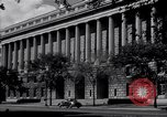 Image of Internal Revenue Service Building Washington DC USA, 1948, second 22 stock footage video 65675032334