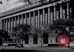 Image of Internal Revenue Service Building Washington DC USA, 1948, second 23 stock footage video 65675032334