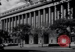 Image of Internal Revenue Service Building Washington DC USA, 1948, second 25 stock footage video 65675032334
