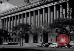 Image of Internal Revenue Service Building Washington DC USA, 1948, second 27 stock footage video 65675032334