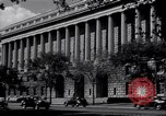 Image of Internal Revenue Service Building Washington DC USA, 1948, second 31 stock footage video 65675032334