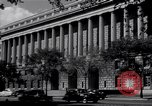 Image of Internal Revenue Service Building Washington DC USA, 1948, second 32 stock footage video 65675032334