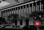 Image of Internal Revenue Service Building Washington DC USA, 1948, second 33 stock footage video 65675032334