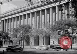 Image of Internal Revenue Service Building Washington DC USA, 1948, second 36 stock footage video 65675032334