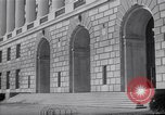 Image of Internal Revenue Service Building Washington DC USA, 1948, second 42 stock footage video 65675032334