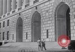 Image of Internal Revenue Service Building Washington DC USA, 1948, second 47 stock footage video 65675032334