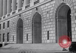 Image of Internal Revenue Service Building Washington DC USA, 1948, second 51 stock footage video 65675032334
