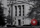 Image of Internal Revenue Service Building Washington DC USA, 1948, second 52 stock footage video 65675032334