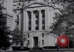 Image of Internal Revenue Service Building Washington DC USA, 1948, second 53 stock footage video 65675032334