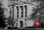 Image of Internal Revenue Service Building Washington DC USA, 1948, second 56 stock footage video 65675032334