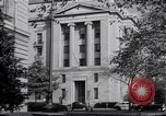Image of Internal Revenue Service Building Washington DC USA, 1948, second 61 stock footage video 65675032334