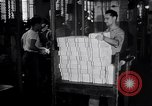Image of Bureau of Engraving and Printing Washington DC USA, 1948, second 26 stock footage video 65675032336