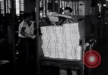 Image of Bureau of Engraving and Printing Washington DC USA, 1948, second 28 stock footage video 65675032336