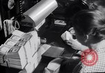 Image of Bureau of Engraving and Printing Washington DC USA, 1948, second 32 stock footage video 65675032336