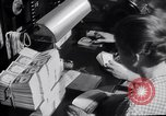 Image of Bureau of Engraving and Printing Washington DC USA, 1948, second 33 stock footage video 65675032336