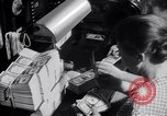 Image of Bureau of Engraving and Printing Washington DC USA, 1948, second 46 stock footage video 65675032336
